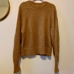& other stories mohair sweater